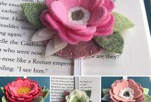Textil ötletek (virágok, egyebek..)