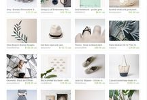 Handcrafted Goods / Drool-worthy goods from handcrafted sellers + small business // shop small always