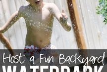 Backyard Ocean/Beach/Water Park Party / by Kati Knowland