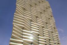 residential / tower / facade
