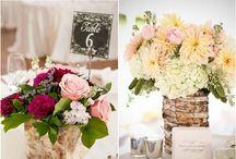 Hochzeits-Tischdekoration