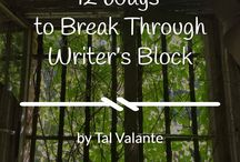 Writer's Block / Get around, over, or under it with the help of these articles. Just don't let it beat you!