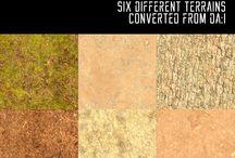 S4 memo - Build > Terrains