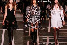 Givenchy / Givenchy collezione e catalogo primavera estate e autunno inverno abiti abbigliamento accessori scarpe borse sfilata donna.