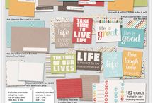 Project life and Smashbook printables