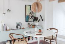 Mid century modern now / Lustworthy interiors with a Scandinavian modern retro style.