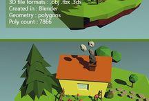3D Low Poly - by 3D Studios