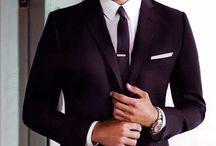 Men's Fashion / by Rhea Scherbert