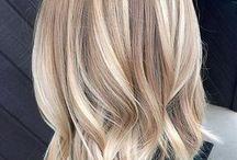 (Farge) hår