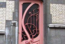 Art nouveau / I love the art nouveau style of design. Yep, I dig it.