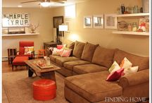 Basement Decor / inspiration and ideas for the basement.