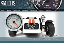 Gauges for Motorsports / Details of #gauges like #speedometers and for fuel and air from CAI and #Smiths for #motorsports