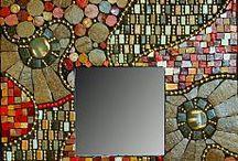 ландшафтная и интерьерная мозаика / мозаика своими руками