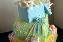 "Cakes, Baby Shower & Gender Reveal / Delightful cakes for the Mum-to-Be. It's worth looking at the ""Baby Party Cakes"" ,many of them would be just as suitable for a baby shower. There are lots of adorable cupcakes on the ""Cupcake - Baby"" board too. - You might like to take a peek at my many other Cake & Party Boards ... lots of great party ideas to choose from!"