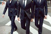 Men's black suit / Suits for weddings