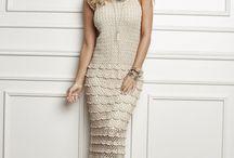 vestidos longos croche