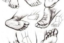 føtter
