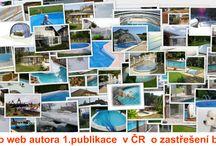 Zastřešení bazénů, swimming pool enclosure / Zastřešení bazénů