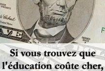 éducation et autres pensees