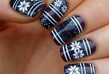 Nail Art Designs - sponge , dot , line,nail tutorials,stamping ..whatever you want