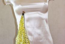 Vestidos de sedaIBZ by iSedas. HANDMADE ART ON SILK. / Vestidos de seda pintados a mano. Hand made silk art. COLECCIÓN 2015. Collection 2015