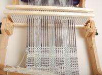 weaving, knitting, crocheting / tkaní, pletení, háčkování