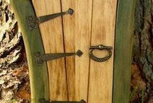Porte delle fate/Fairy doors