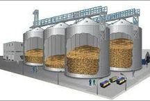 suppliers of Grain storage silo, Plastic Granules Storage Silo in India