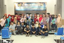 SEMINAR ILMIAH Bersama BMKG di Auditorium FMIPA Universitas Negri Surabaya(UNESA) / Amazing day,, Thanks all teacher for give me a science.