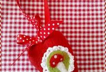Herzen, Herzen und nochmal Herzen by Tante Nana / Herzen in allen Variationen ... gefilzt, genäht, gehäkelt ...  ♥ handmade by www.tantenana.de (ehemals www.derkleinebaer.de) ♥