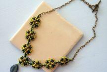 Firuldespicatinpatru / handmade beaded jewelry seed bead jewelry beadwoven jewelry