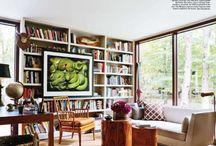 Interior - Bookcases / by Haley Wertz
