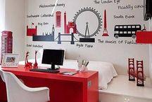 quarto decorado