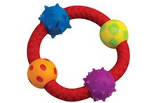 Buy  Pet stages Multi Texture Chew Ring Dog Toy From 4petneeds