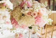 pink hydrangeas deco / Decoration