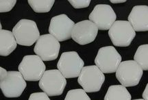 2-hole Czech Glass Beads / See all the wonderful colors of the most versatile glass beads. CzechMates and other two hole Czech beads are beading blocks of a beading industry.
