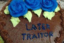 """KA """"Leaving"""" Cake"""