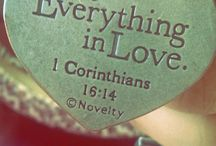 Do everything in love<3 / Love God, love people