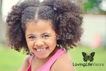 Little Girl Hair / Hair inspiration for my girls. With 2 kids I am going to have my hands full with styling their naturally kinky curly hair. / by Cosmo Martinelli