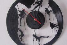 Relojes Disco de acetato / Lindos relojes reutilizando discos de acetato hacemos realidad tu idea  #decoración #reloj #disco  #petlovers #dogs #cats #perros #gatos