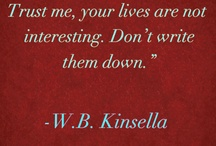 The Author Says..... / Quotes from famous authors