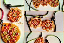 borirkajewel-Tavaszváró- Spring Promotion / Tavaszi hangulatot idéző  színes ékszerek, láncok, fülbevalók . Kerámiából és gyöngyökből. #Spring Promotion : Colours #jewellery, #necklaces, #earrings, with #ceramics and glass beards www.facebook.com/borirkakeramia , borirkainfo@gmail.com