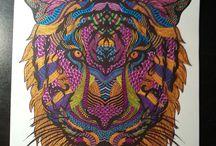 Art Thérapie / Mes Colos....