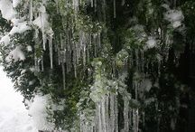НГ: снежинки