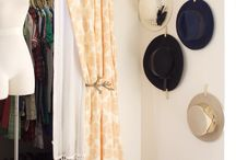 Organized Wardrobe / Tips and tricks for organizing and protecting the well-loved items in your wardrobe. Particularly those that are delicate vintage pieces.