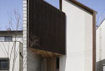 Elevation options for hobbie / Angles timber white contrast dramatic