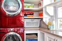 Laundry Room Style: Tiny