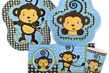 Monkey Boy Baby Shower / Monkey Boy Baby Shower Ideas / by Modern Baby Shower Ideas