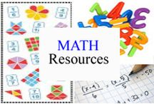 Math Resources / Resources and strategies for teaching and learning Math. / by Tree Top Secret Education