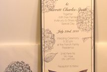 Wedding Invites / wedding invitations and/or decor
